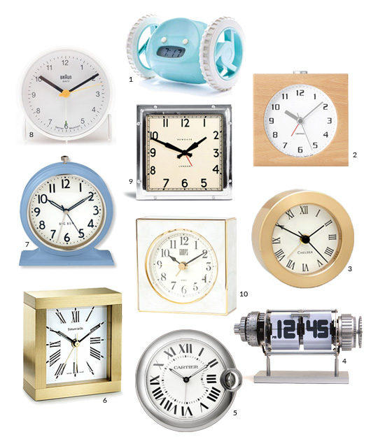 10 Awesome Alarm Clocks That Are Super Stylish