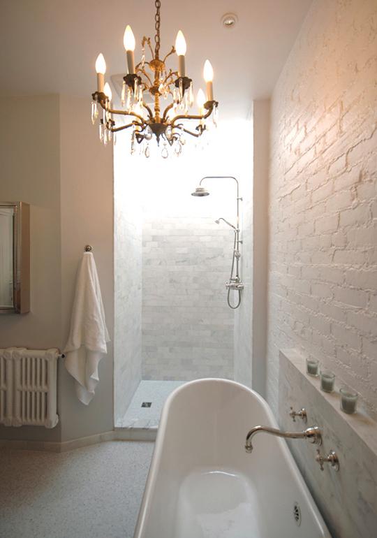 Bright white bathrooms meghan carter - Design sponge bathrooms ...